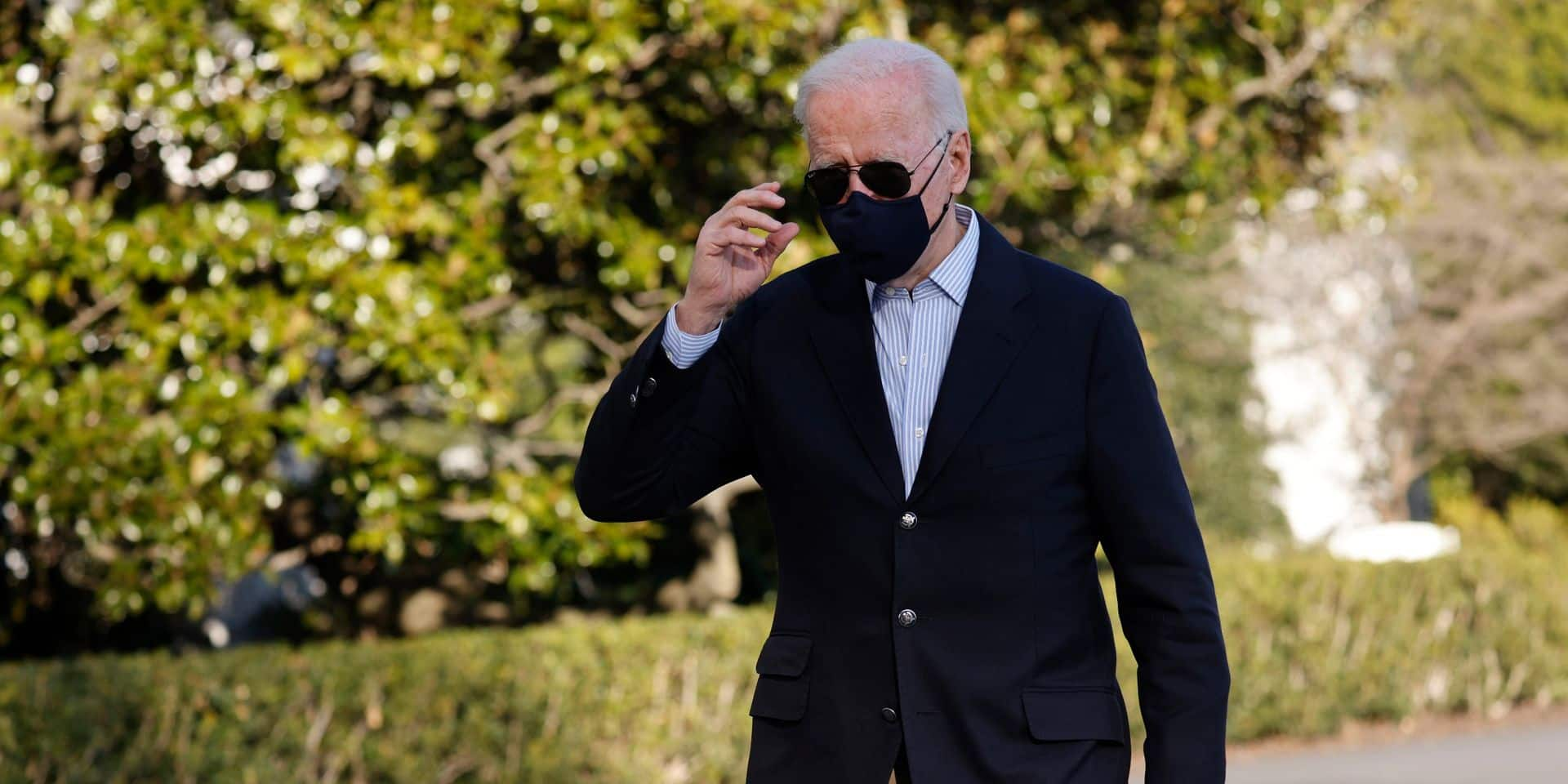 Joe Biden est confronté à la première grande crise de son mandat