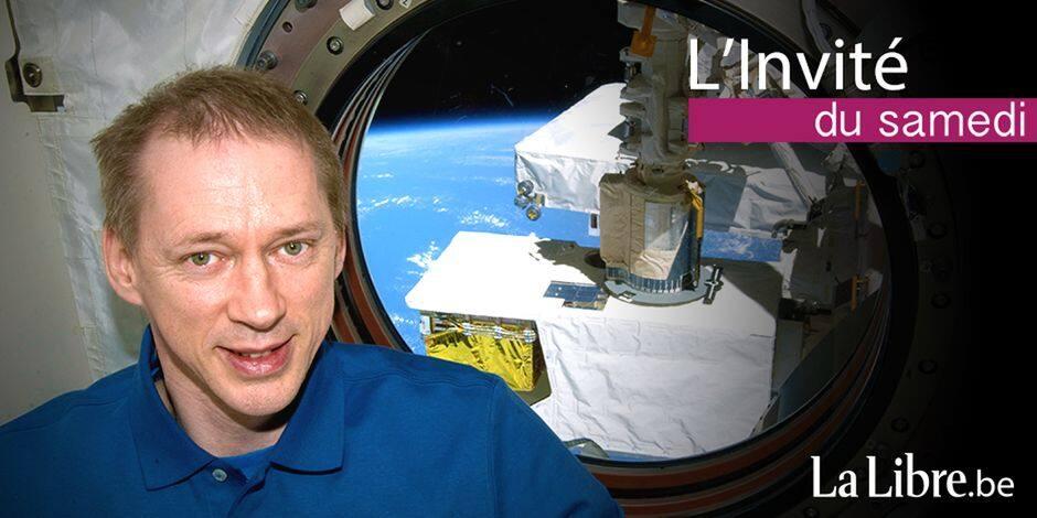 """Frank De Winne a passé six mois dans l'espace: """"En confinement, la routine est très importante"""""""