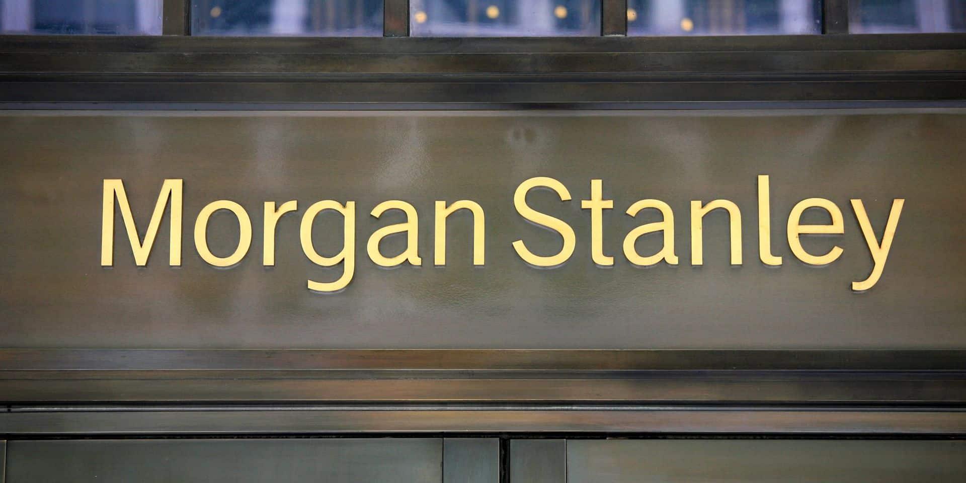 La banque Morgan Stanley affectée à son tour par le coronavirus