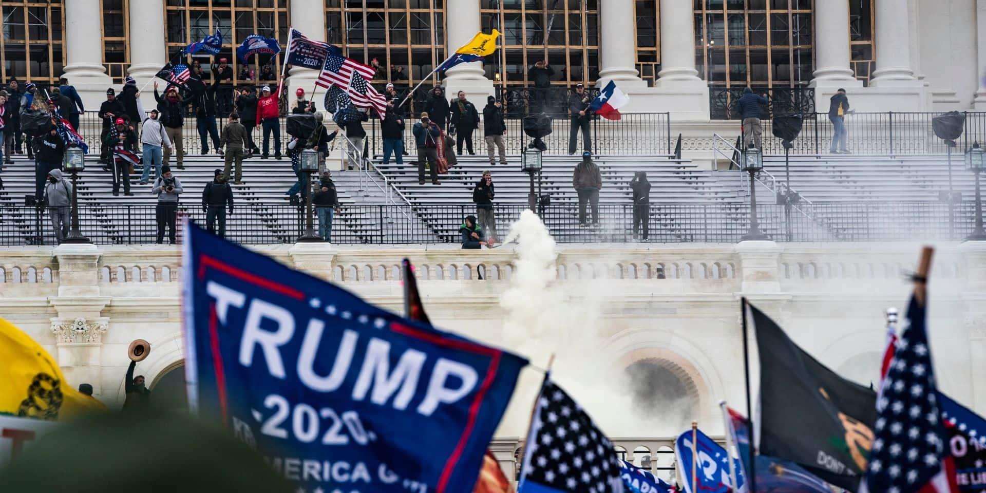 """Des partisans de Trump prévoient une nouvelle attaque : """"Je suis terriblement préoccupé"""""""
