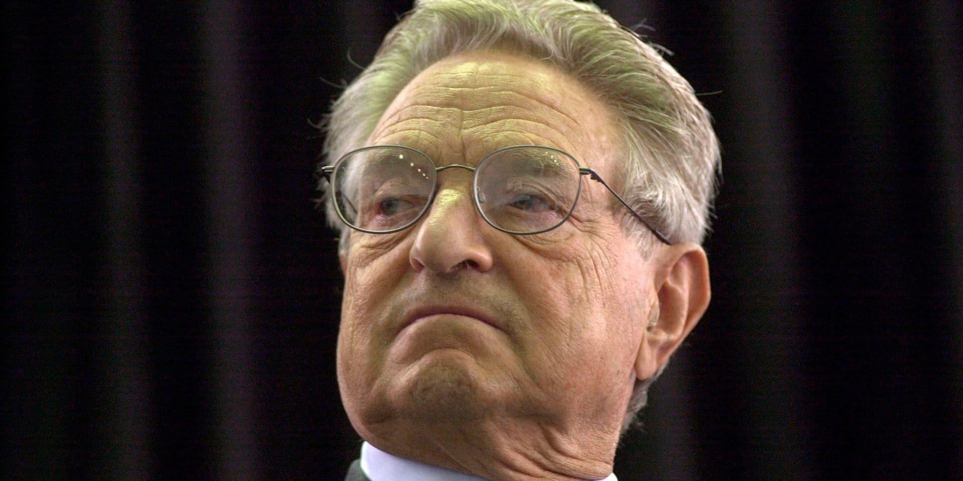 Le milliardaire américain George Soros sur le point d'investir dans une société wallonne