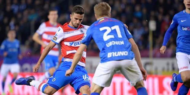 Genk et Bruges se quittent dos à dos au terme d'un match disputé (1-1) - La Libre