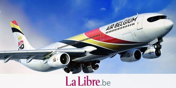 Illustration picture shows a picture of a plane of new Belgian airline company Air Belgium, Monday 30 January 2017, in Mont-Saint-Guibert. BELGA PHOTO ERIC LALMAND