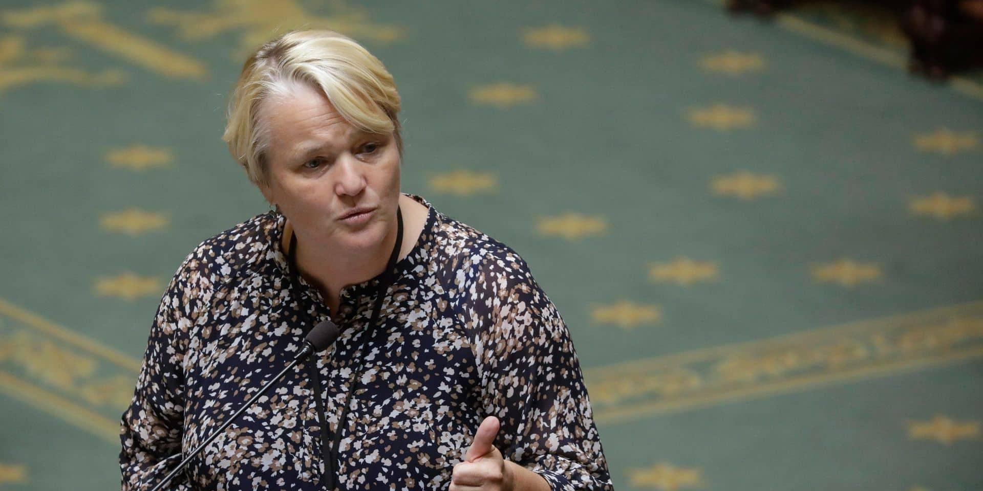 La ministre fédérale de l'Egalité des chances, Nathalie Muylle, préside la conférence interministérielle contre le racisme.