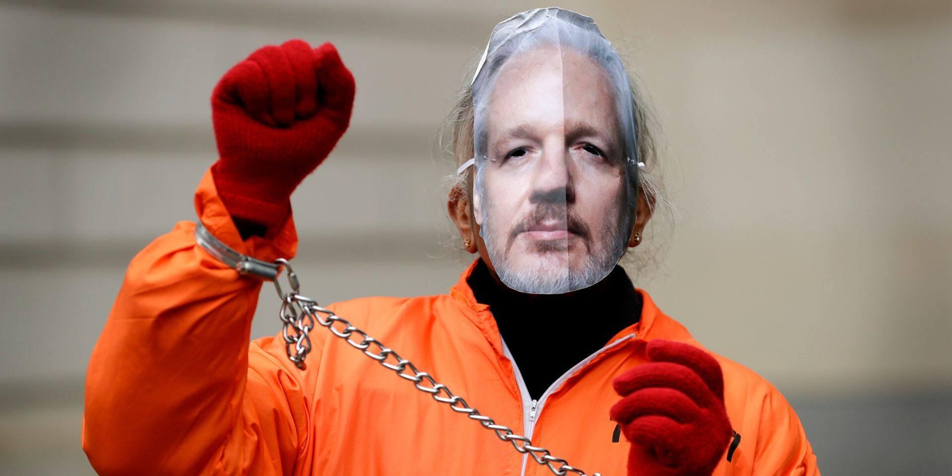 Une journée pour le lanceur d'alerte Julian Assange ce mercredi à Bruxelles