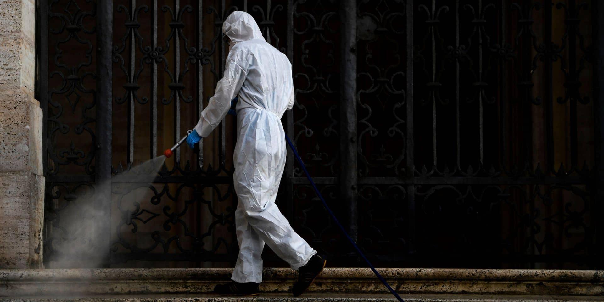 """Pulvériser du désinfectant dans les rues pour lutter contre le coronavirus: """"Dangereux et pas efficace"""""""