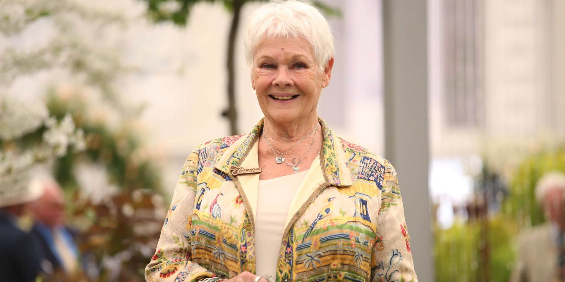 Dame Judi Dench, 85 ans, fait la couverture du Vogue UK