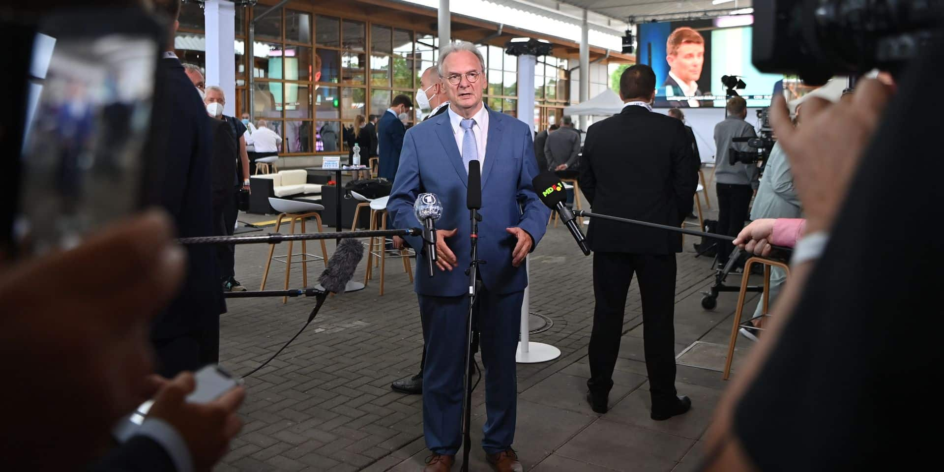 Saxony-Anhalt state election in Germany