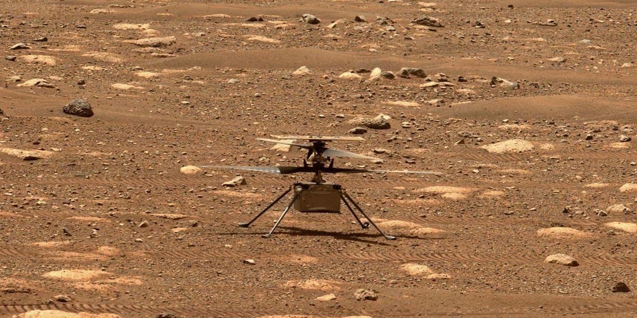 L'hélicoptère de la Nasa prêt pour son premier vol sur Mars: l'événement aura lieu durant la nuit de dimanche à lundi