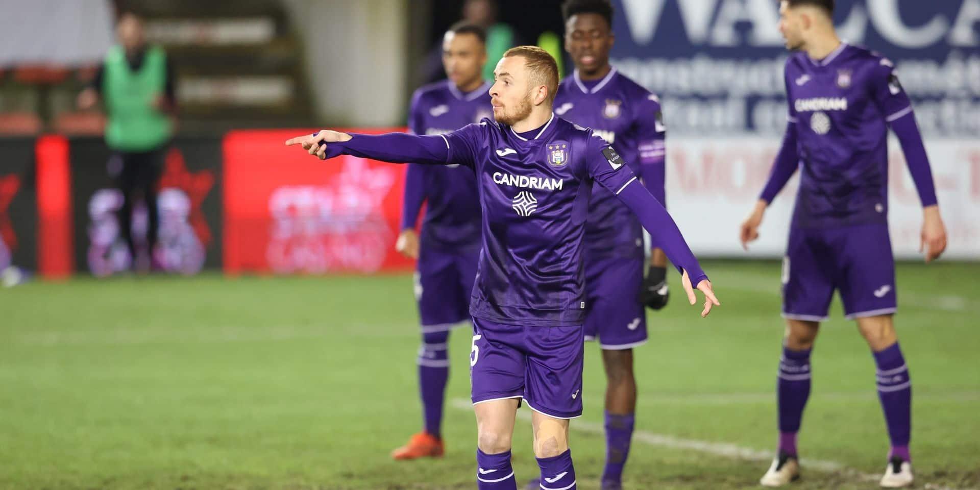 Anderlecht se rassure et renverse Zulte Waregem au bout d'un match abouti (4-1)