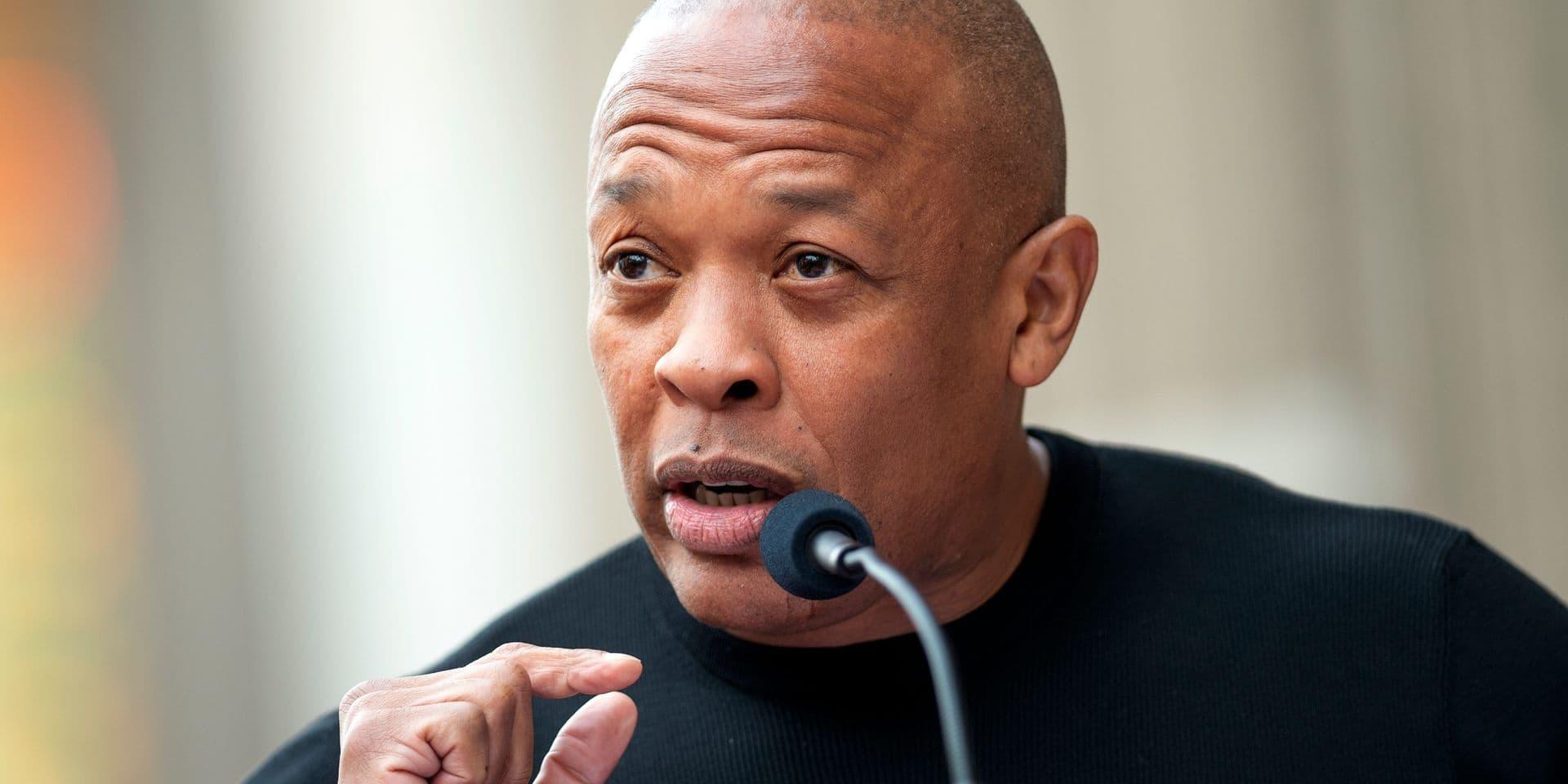 """Hospitalisé, le rappeur Dr. Dre rassure ses fans: """"Je vais bientôt rentrer chez moi"""""""