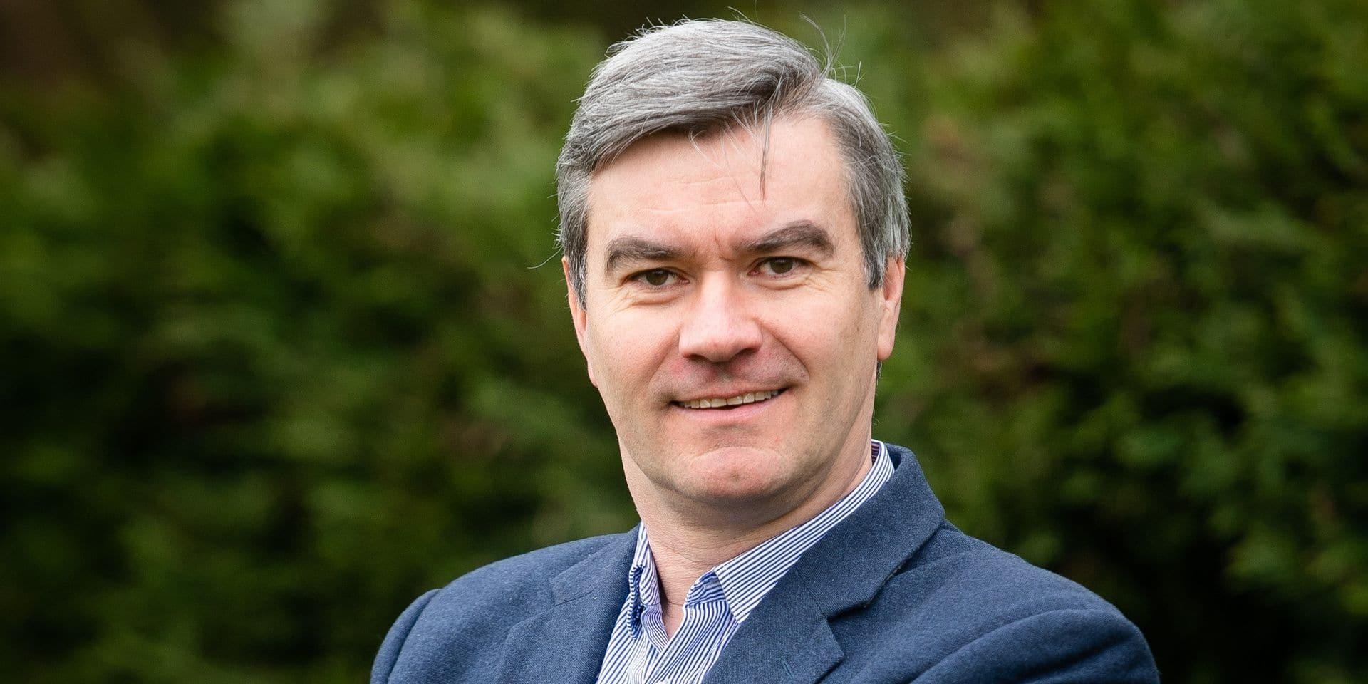 Bousval - Erich Kollegger, directeur de l'IRE (Institut National des Radioelements)à Fleurus