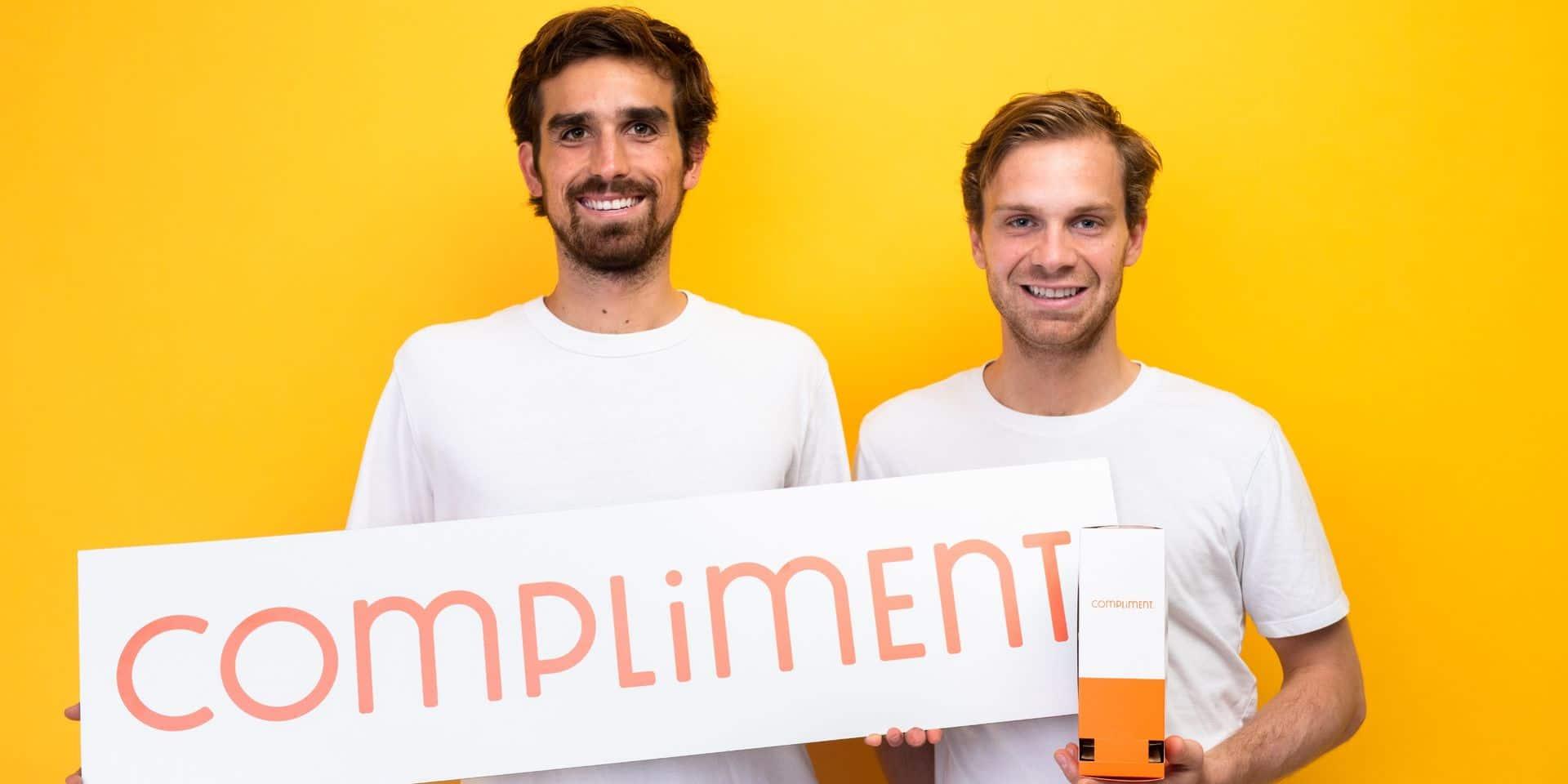 La start-up bruxelloise Compliment se donne les moyens de grandir rapidement et sainement