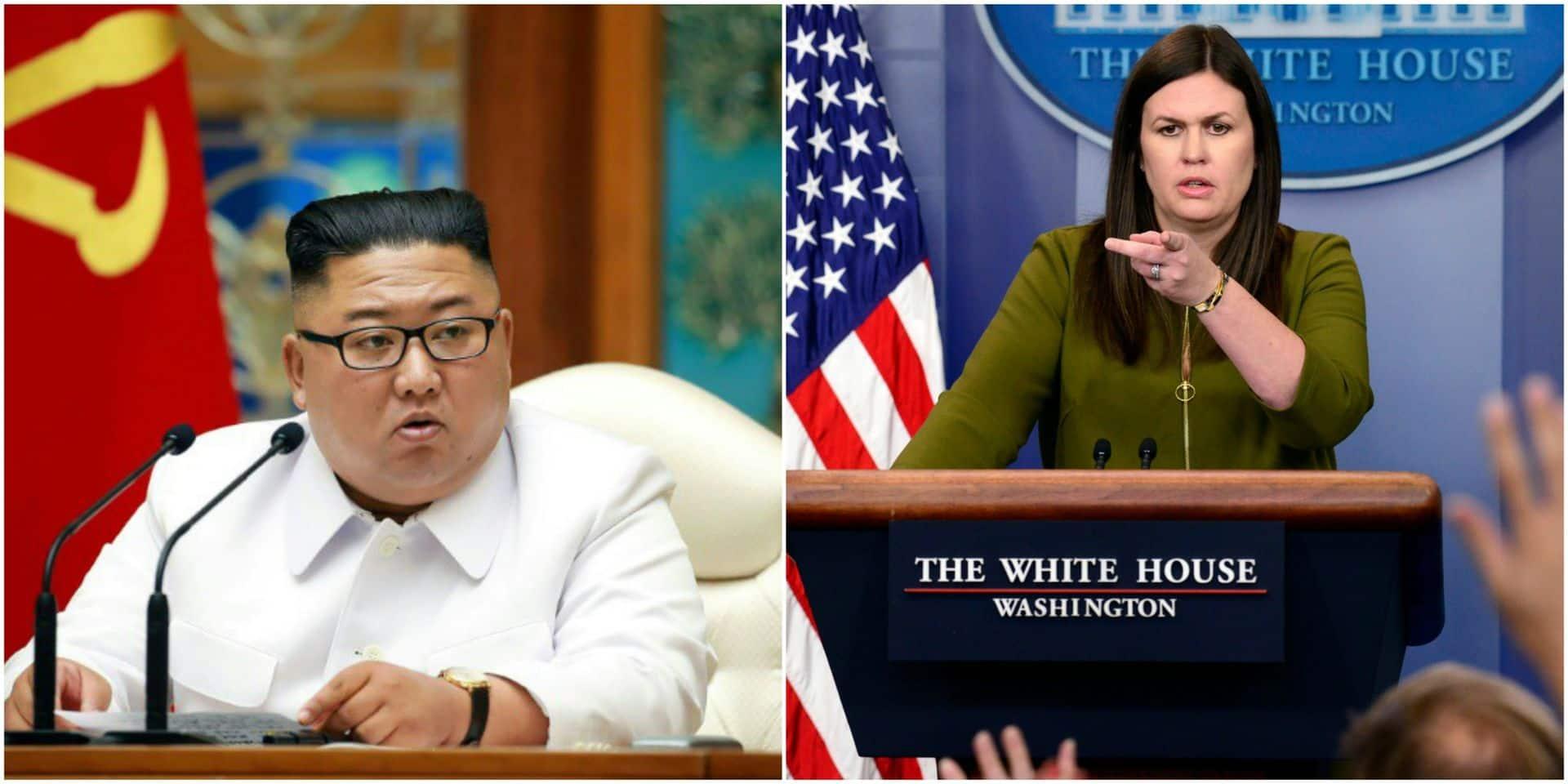 Quand Trump suggérait à son ancienne porte-parole d'avoir une liaison avec Kim Jong Un