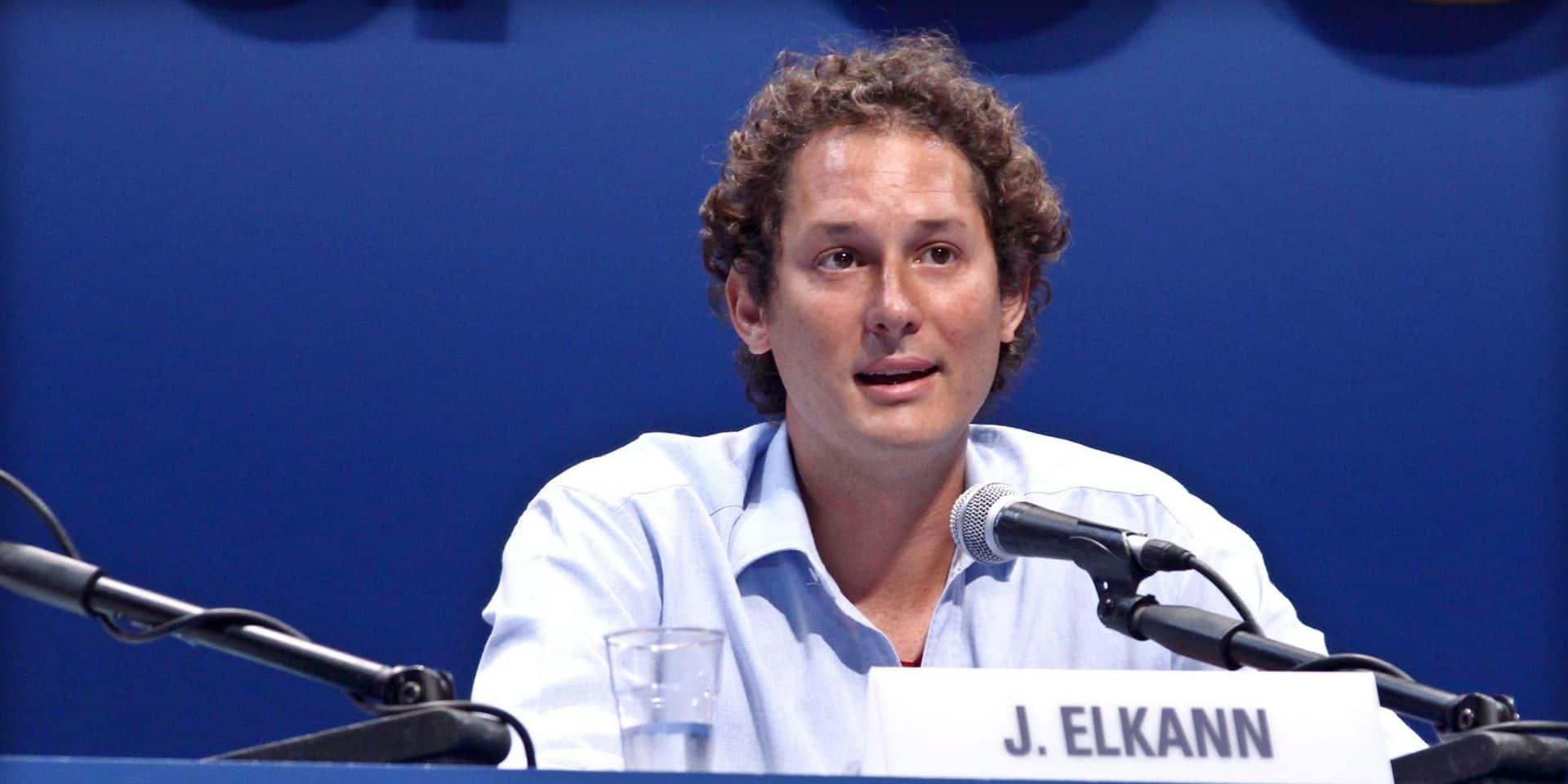 John Elkann, l'héritier discret et patron de Fiat qui a claqué la porte à deux reprises du groupe français PSA