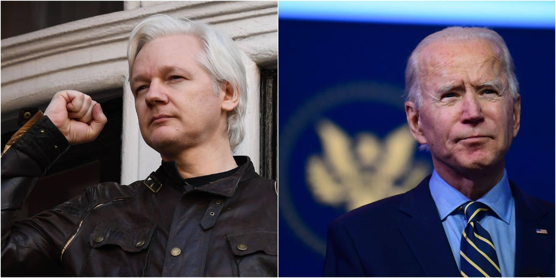 Le père de Julian Assange espère que le fondateur de WikiLeaks sera gracié par Joe Biden