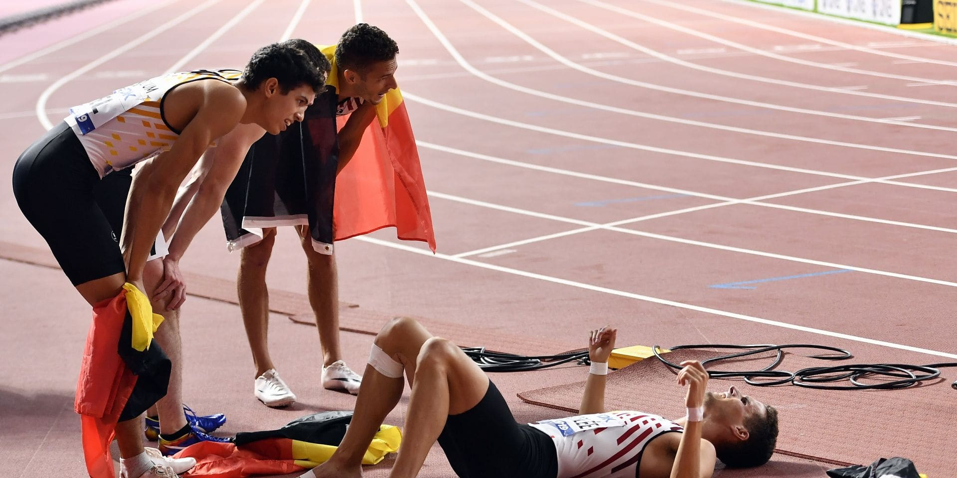 Les Belgian Tornados terminent à la quatrième place du relais 4x400 mètres, la Belgique quitte Torun avec 5 médailles