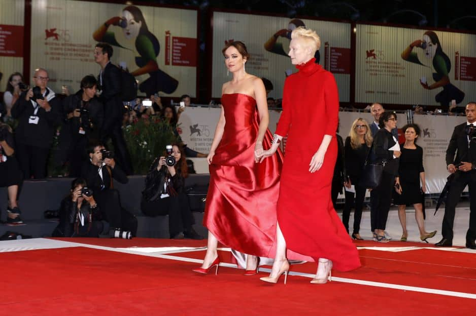 Dakota Johnson et Tilda Swinton