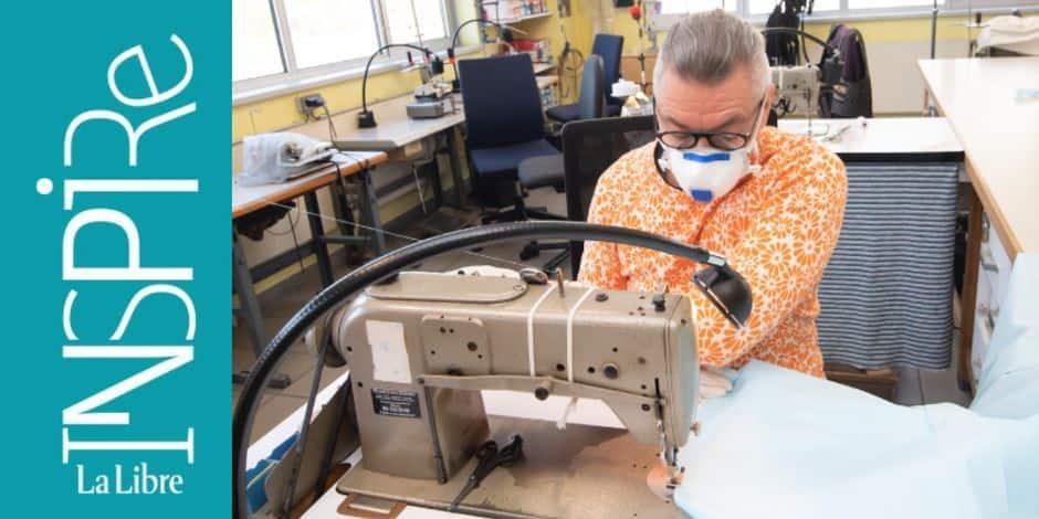 Des couturiers amateurs et professionnels anticipent la pénurie de blouses opératoires