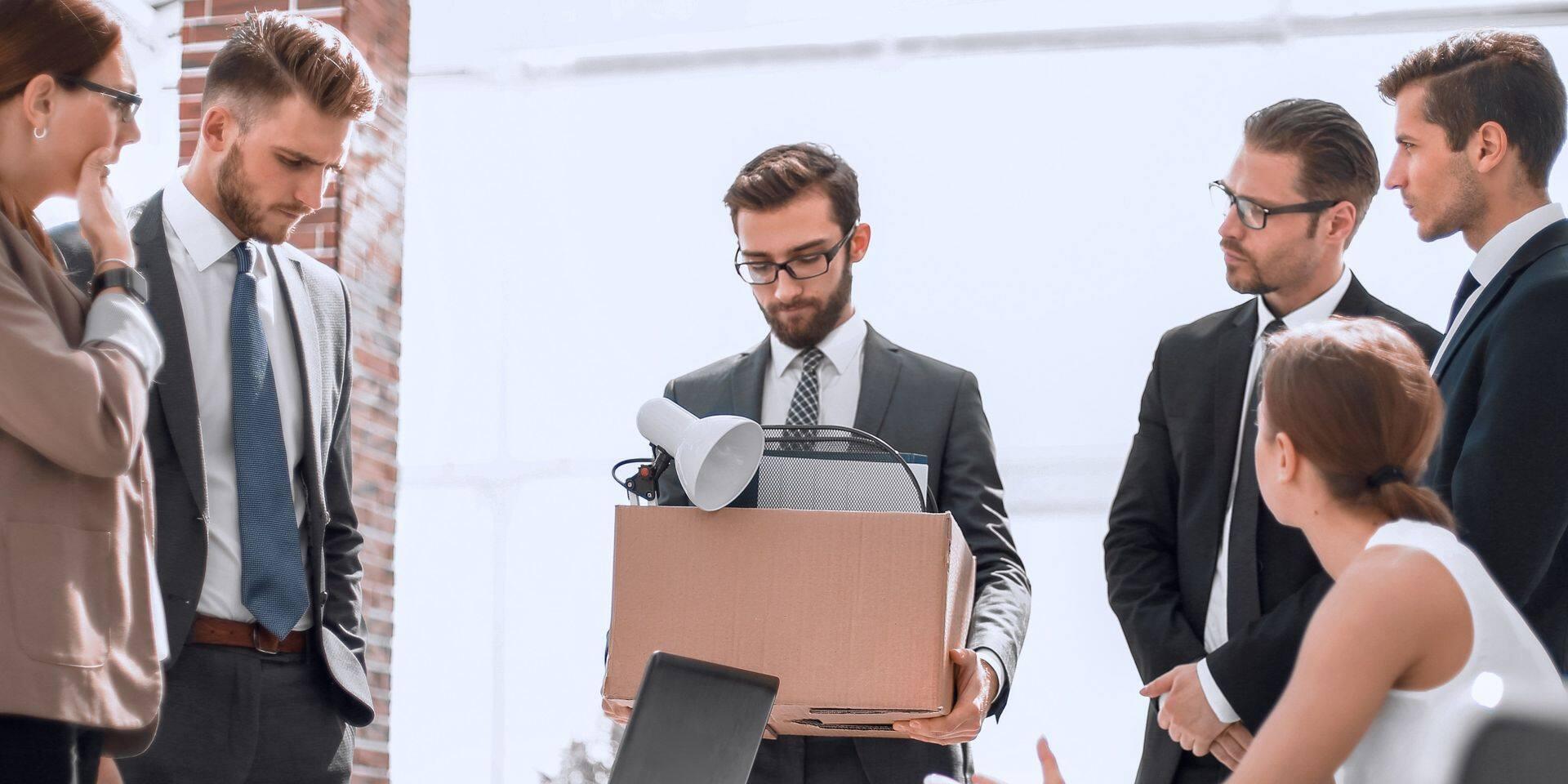 Les intentions de licenciement à la baisse dans les PME belges