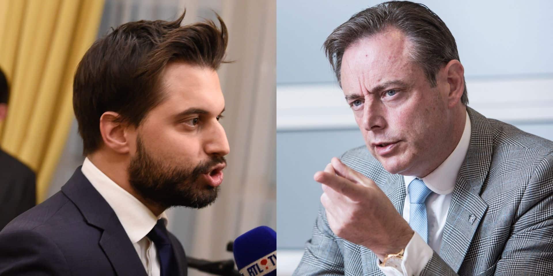 Georges-Louis Bouchez et Bart De Wever s'accrochent sur les réseaux sociaux au sujet de la formation fédérale