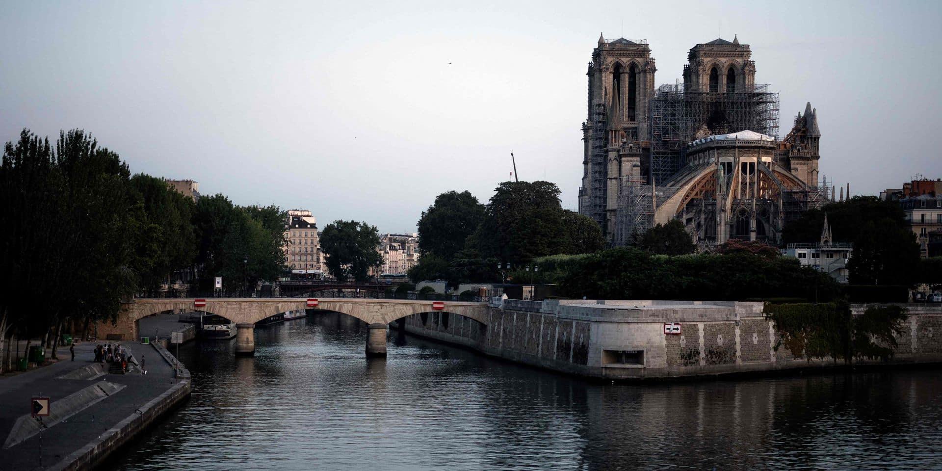 Comment se débarrasser des particules de plomb qui entourent Notre-Dame?