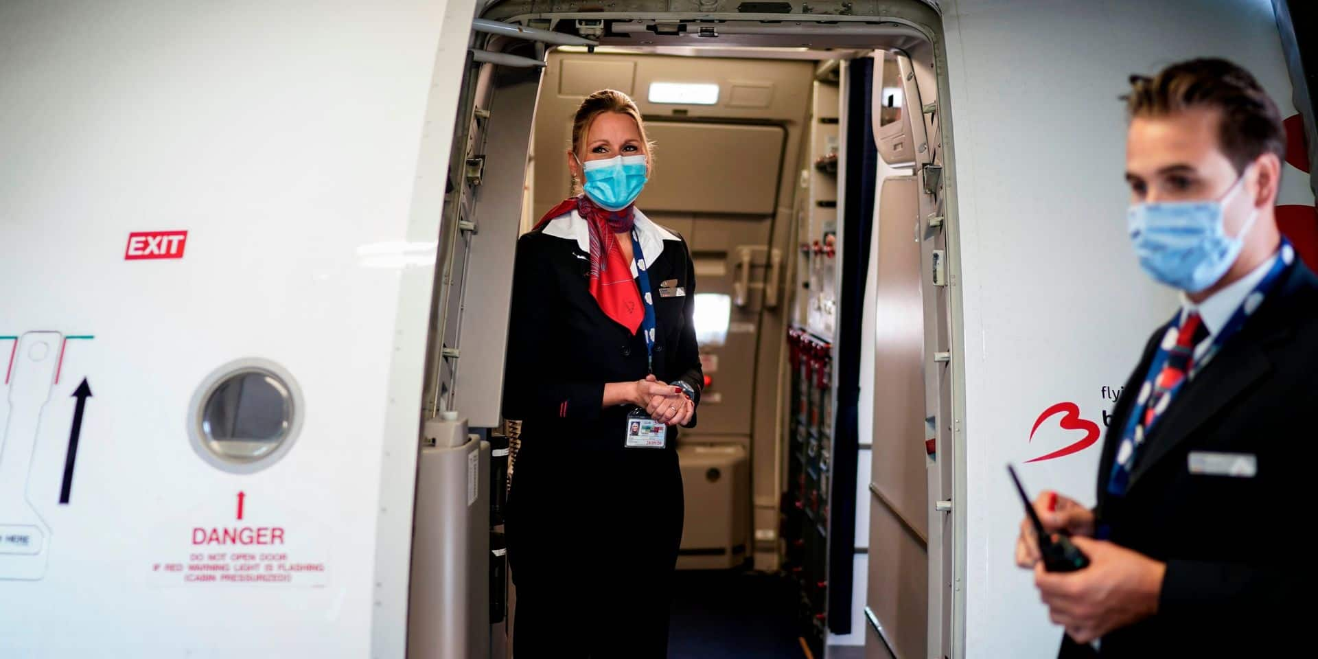 Peu de passagers testés positifs aux contrôles de température à Brussels Airport