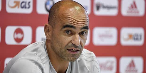 """Roberto Martinez: """"La priorité n'est pas de gagner contre l'Angleterre"""", Lukaku et Carrasco ne se sont pas entraînés - L..."""
