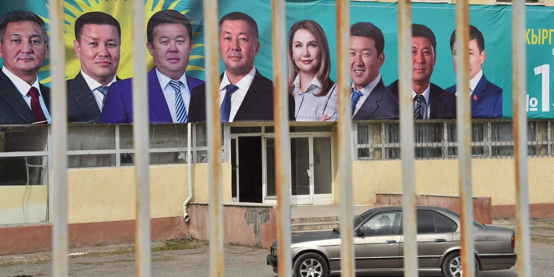 Kirghizstan: la Commission électorale annule les résultats des législatives