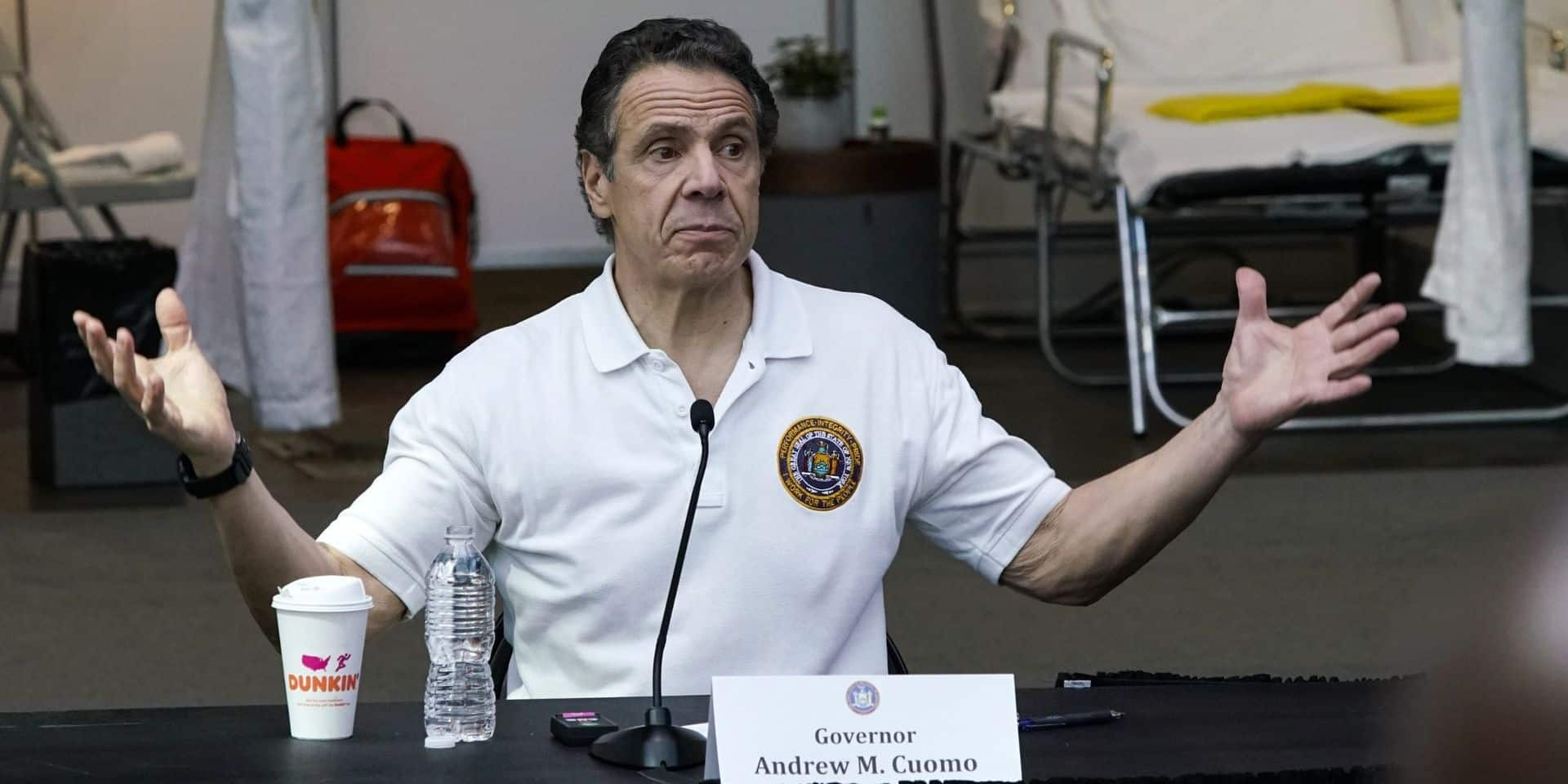 """L'épidémie de coronavirus a fait d'Andrew Cuomo """"le gouverneur de l'Amérique"""""""