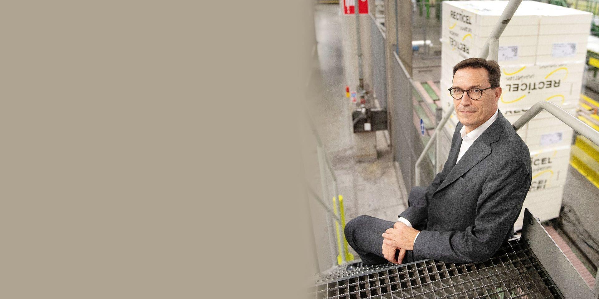 Olivier Chapelle, CEO de Recticel depuis 2009, a recentré les activités sur le cœur de métier: l'isolation.