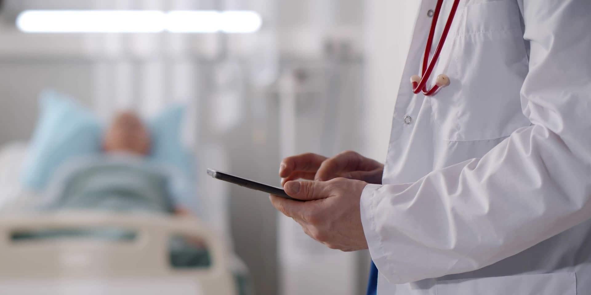 Des centaines de médecins assistants ont manifesté leur mécontentement à Bruxelles