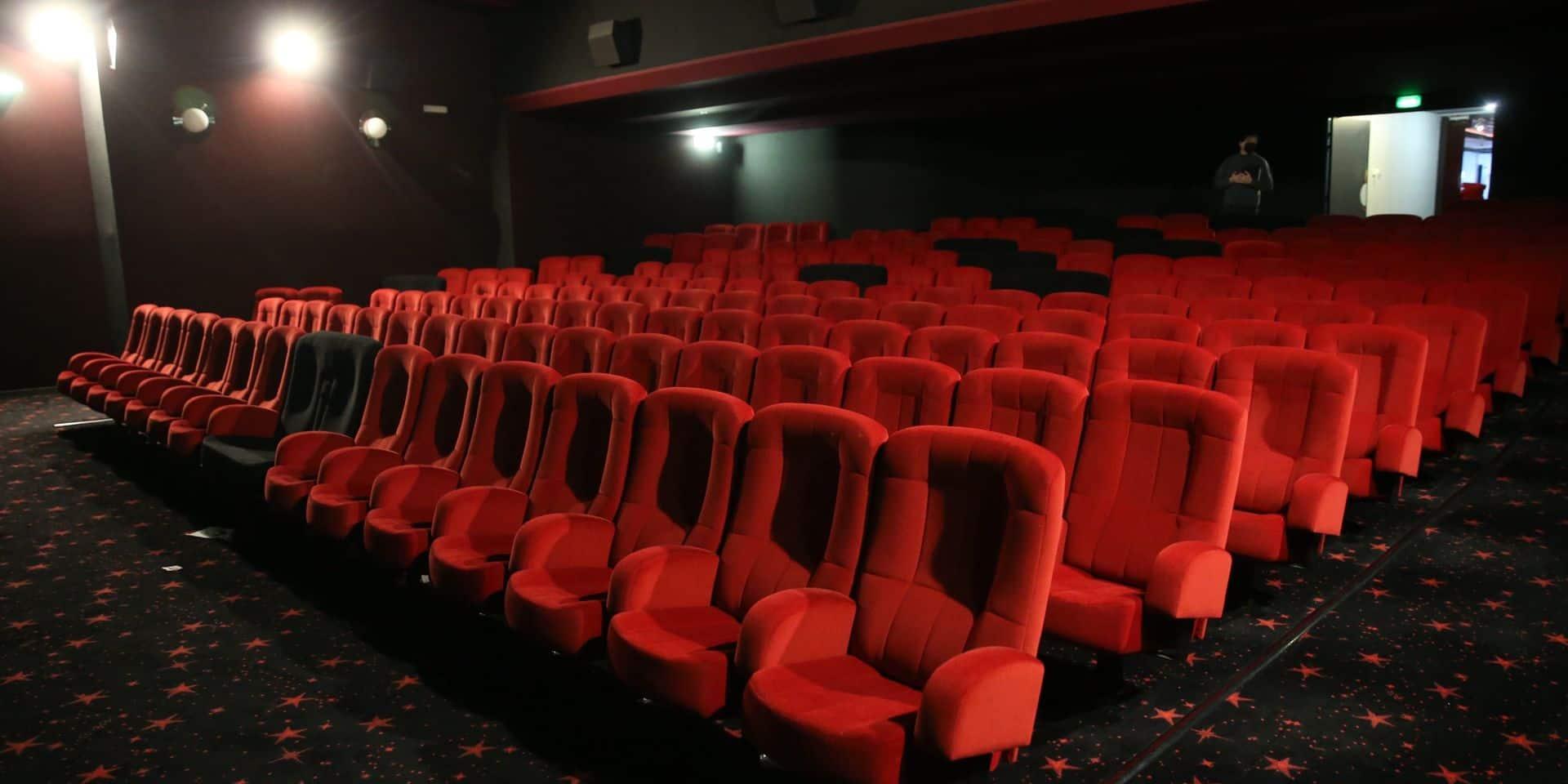 La fréquentation des cinémas belges s'est effondrée de 70 %