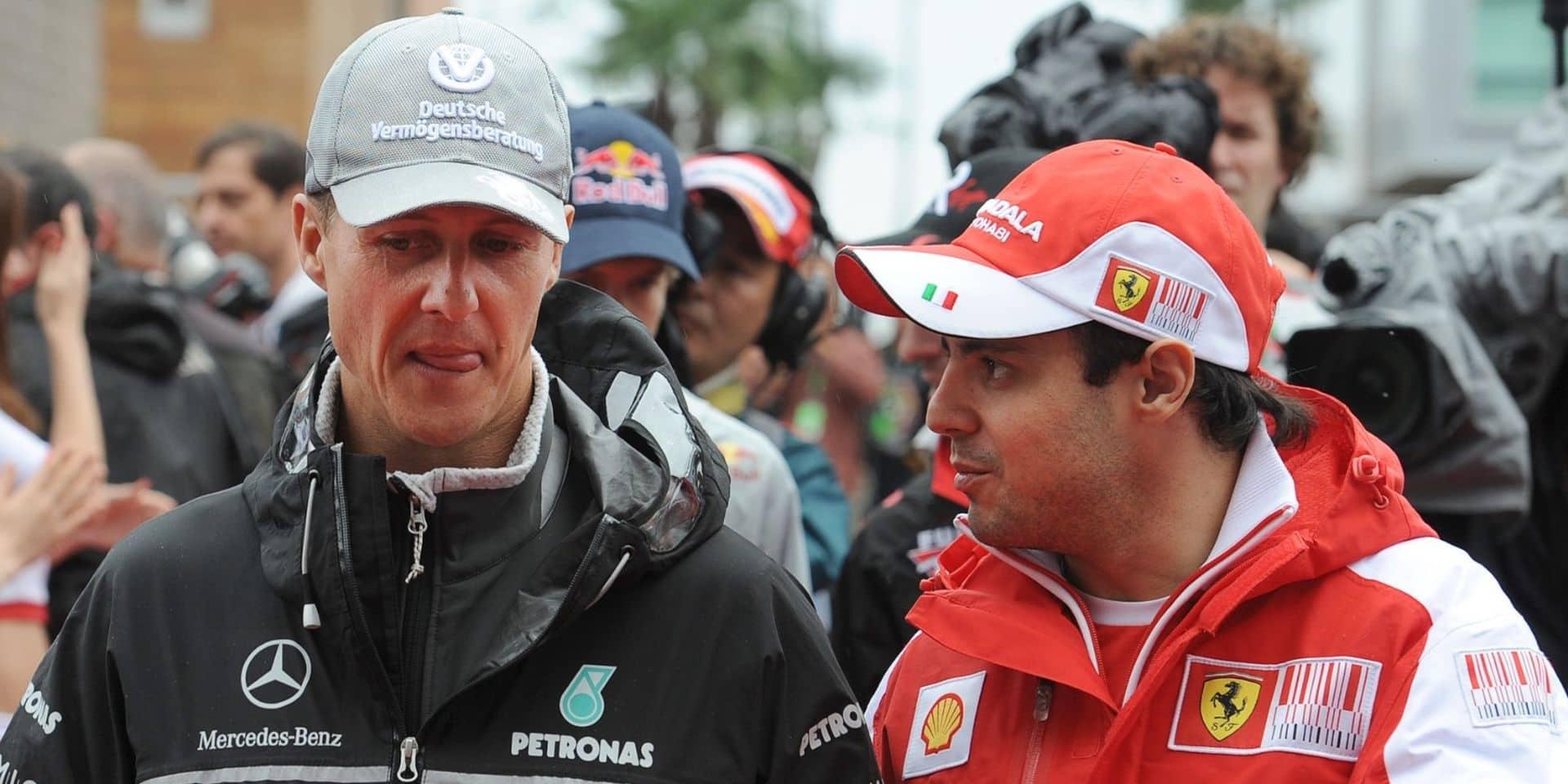 """Un de ses anciens équipiers donne des nouvelles de Michael Schumacher: """"La situation est difficile"""""""