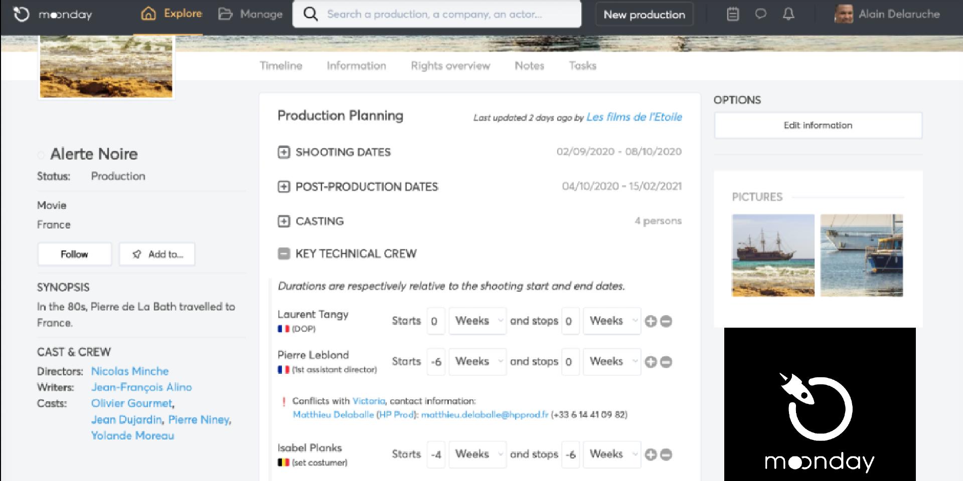 Moonday, l'app belge qui peut déconfiner le cinéma