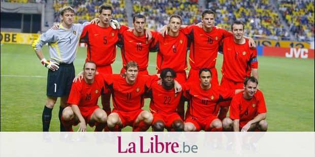 KOBE,17/06/2002 FOOTBALL/WORLD CUP RED DEVILS KOREA/JAPAN 2002 KOBE WING STADIUM BELGIUM BRAZIL Picture by Michel GOUVERNEUR