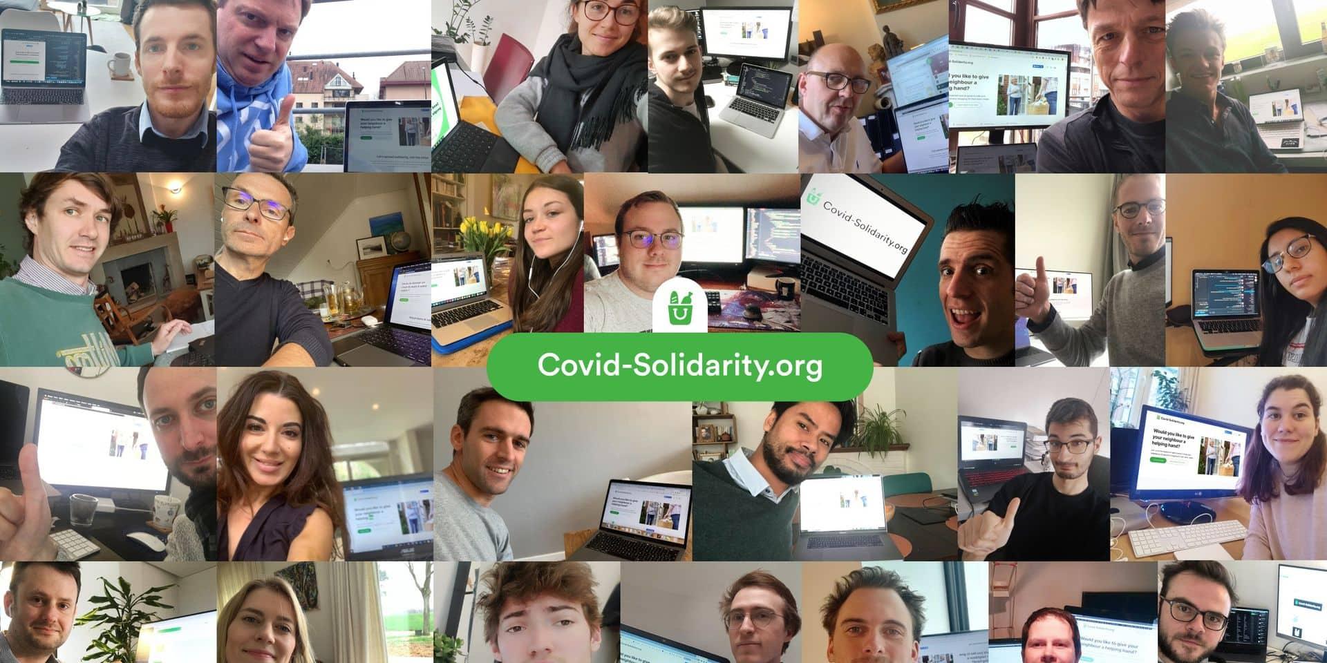 Face au virus, des start-up répandent la solidarité