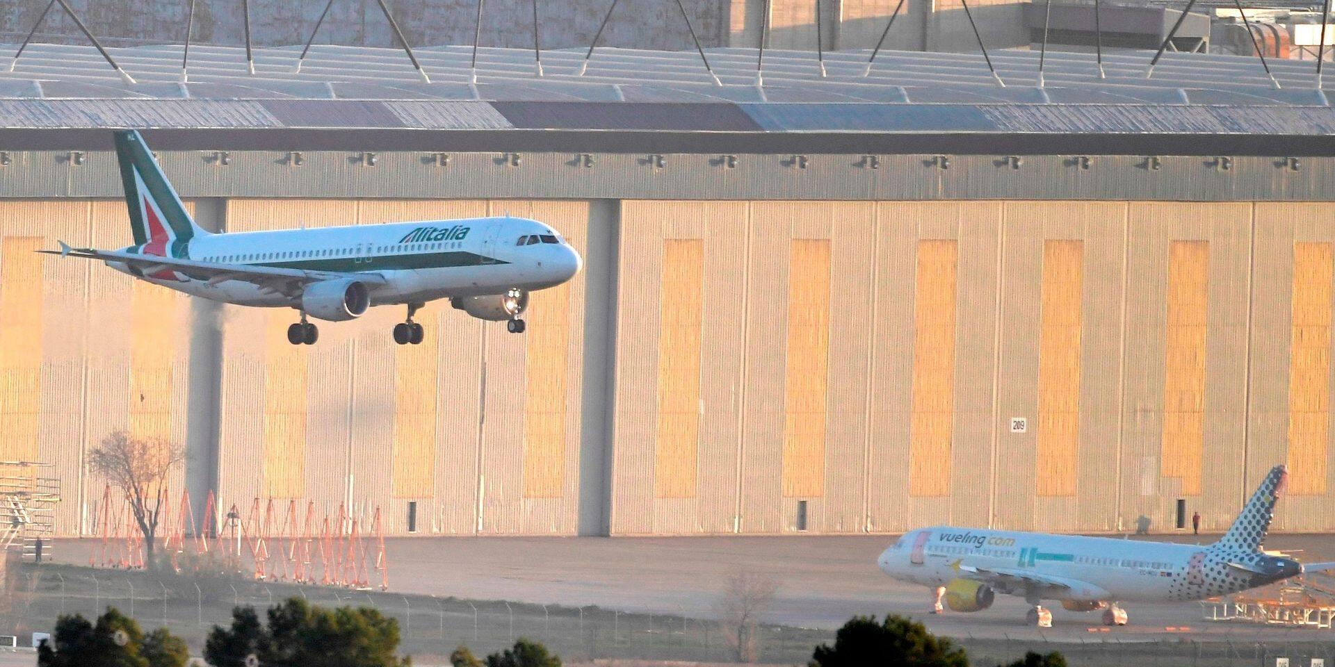 Un avion en provenance d'Italie et quelque quarante passagers ont dû faire demi-tour à cause du coronavirus
