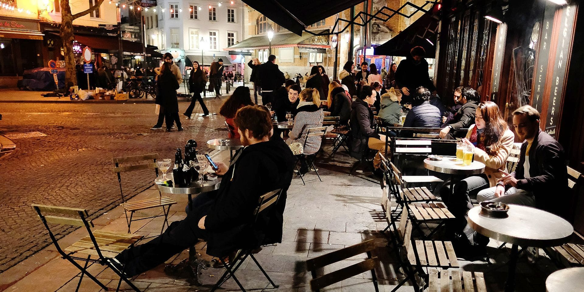 """Fermeture des bars à 23h à Bruxelles : """"L'idée n'est pas mauvaise"""" pour l'Horeca"""