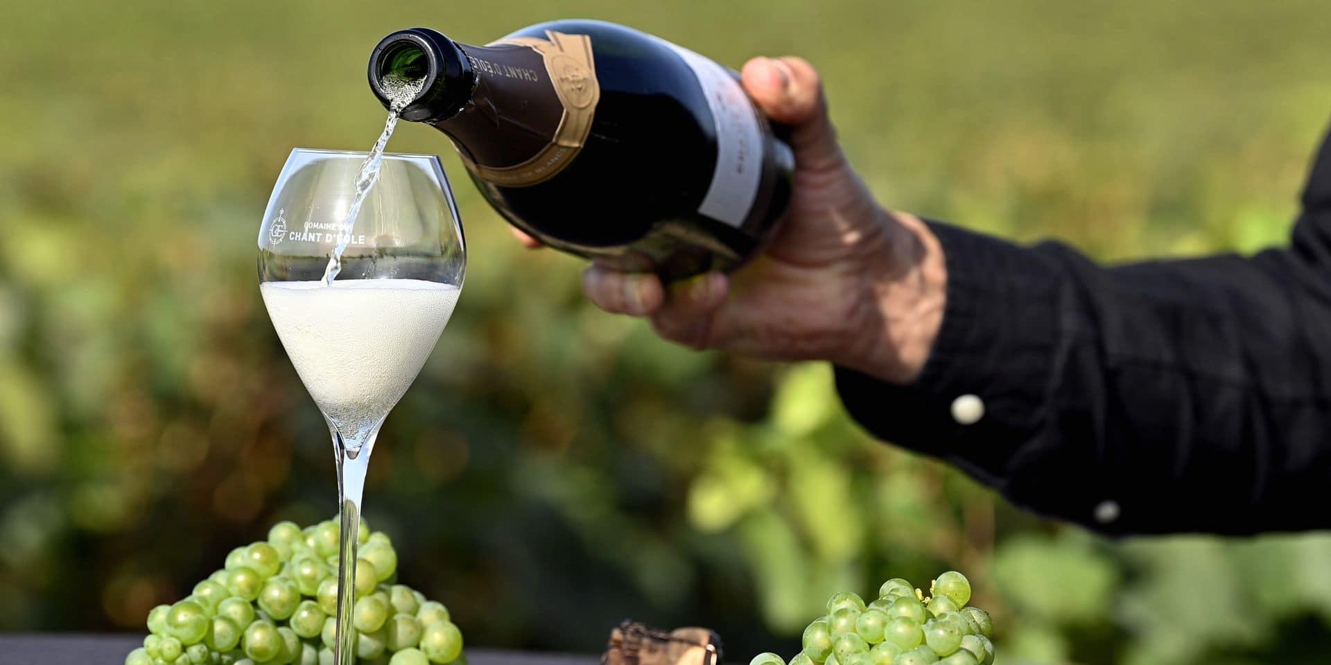 Le mousseux belge rivalise-t-il avec le champagne?