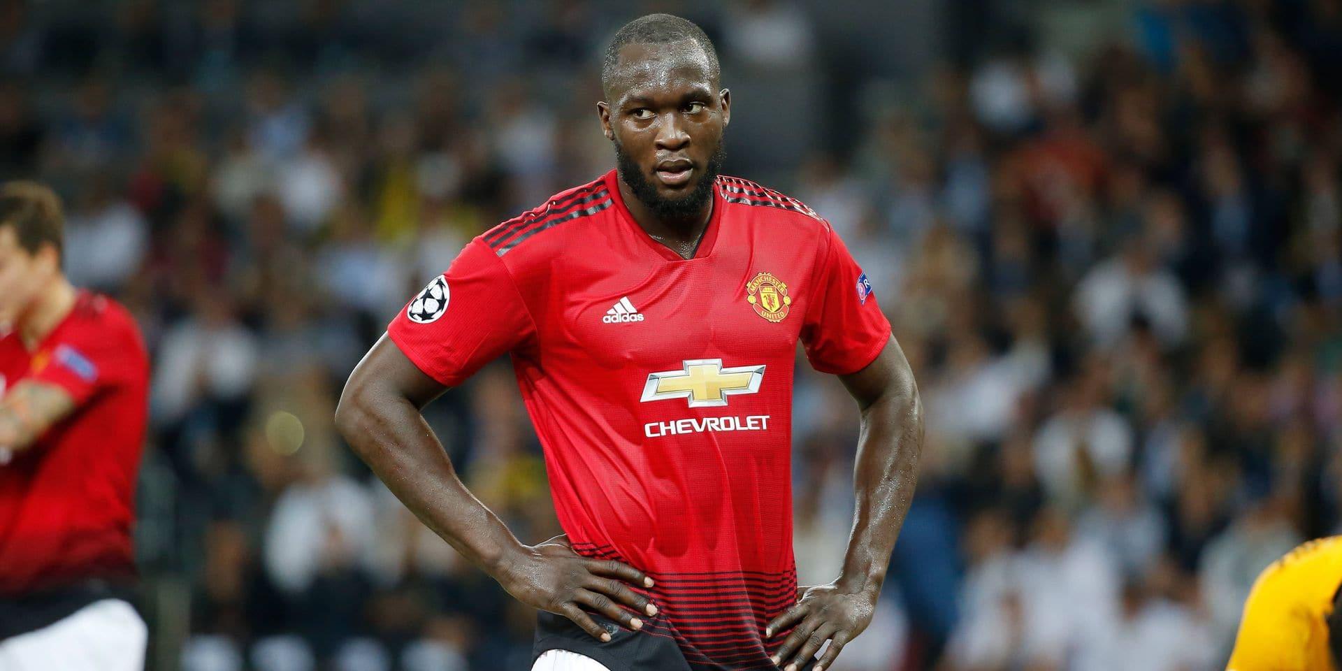 Lukaku ne serait pas repris avec Manchester United!