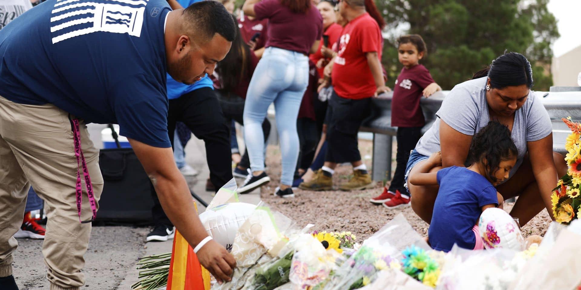 La fusillade d'El Paso au Texas a fait 21 morts, selon un nouveau bilan policier