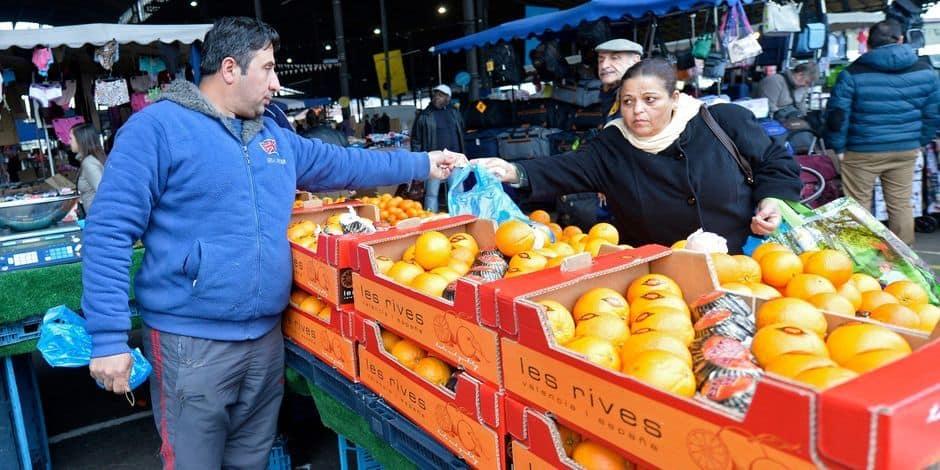 Les marchands de fruits et légumes boycottent le marché des Abattoirs d'Anderlecht