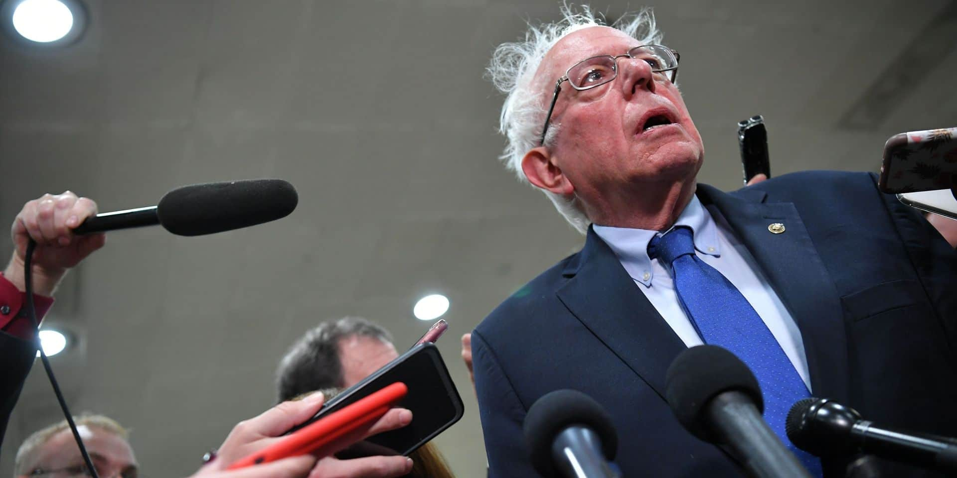 Bernie Sanders suspend sa campagne pour la Maison Blanche