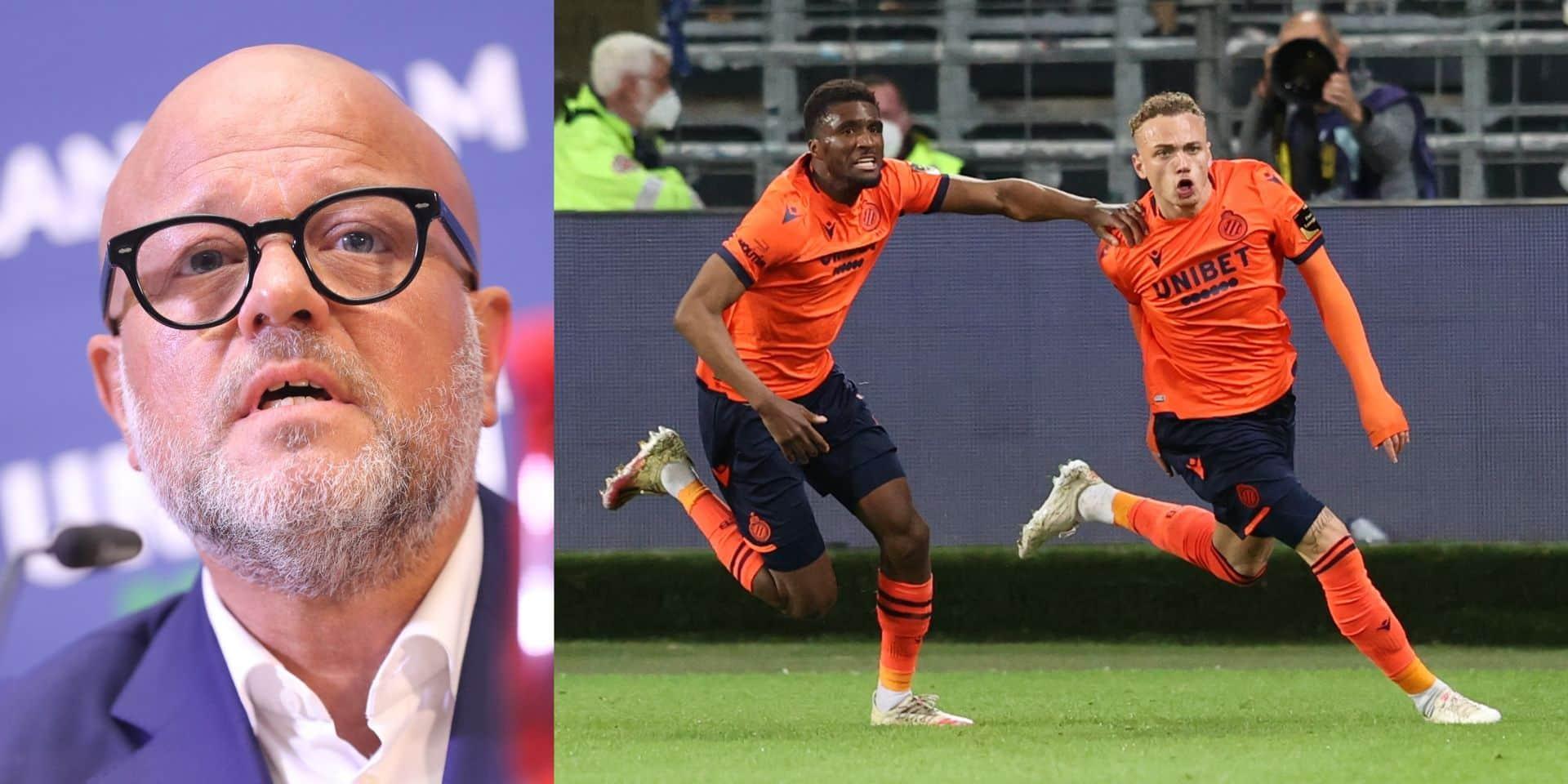 """Le Club de Bruges réagit après la polémique antisémite de Noa Lang: """"Ces surnoms sont adoptés par les supporters de l'équipe elle-même"""""""