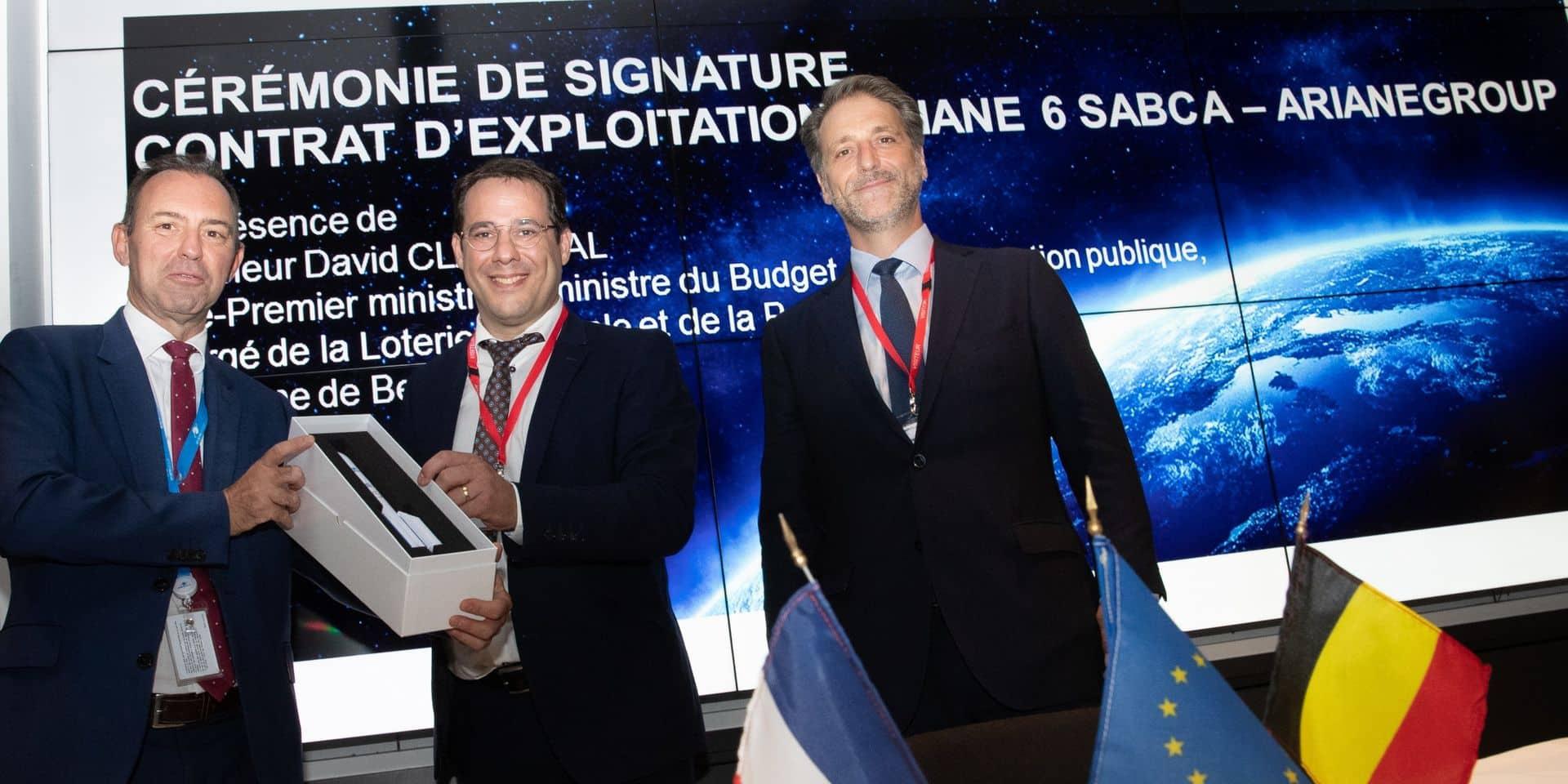La Belgique, première sur un contrat spatial pour Ariane 6
