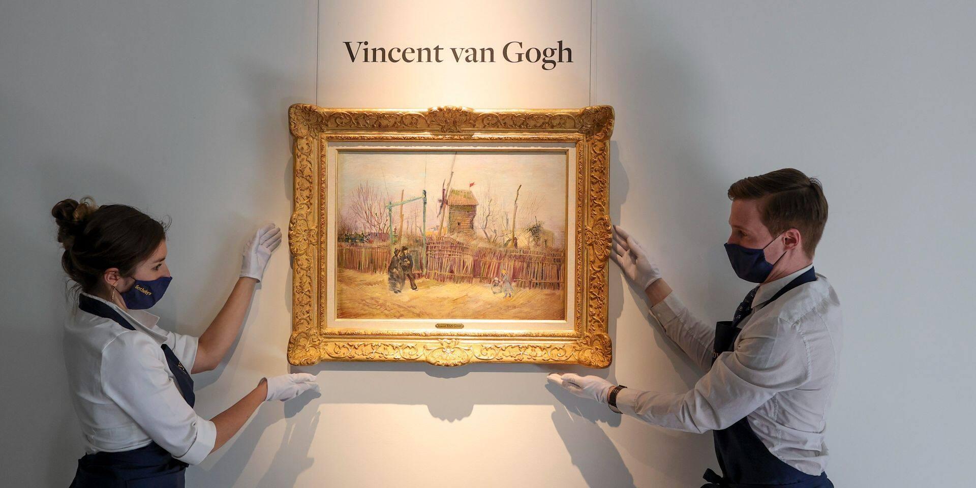 Un très rare tableau de Van Gogh est mis aux enchères ce jeudi
