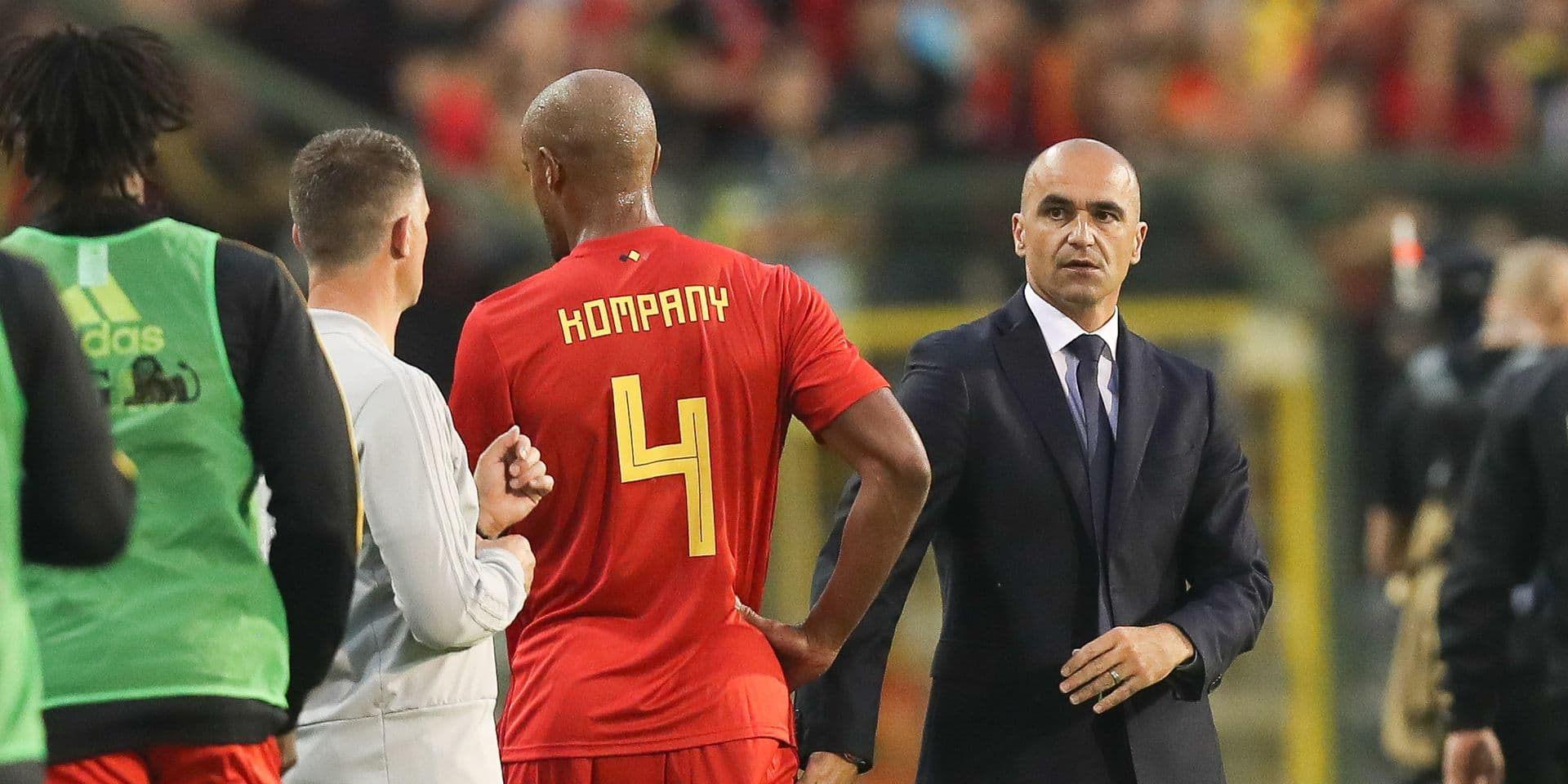 """Martinez: """"Une décision sur Kompany et Vermaelen dimanche"""""""