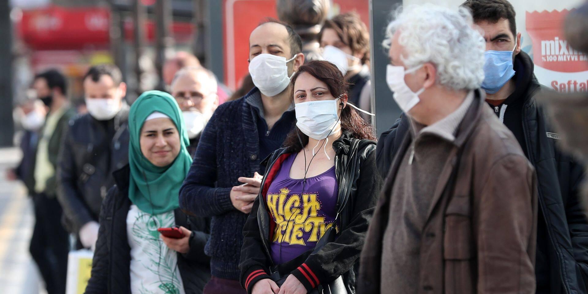 Coronavirus: la Turquie confine pour 48 heures les habitants de 31 villes dont Istanbul et Ankara