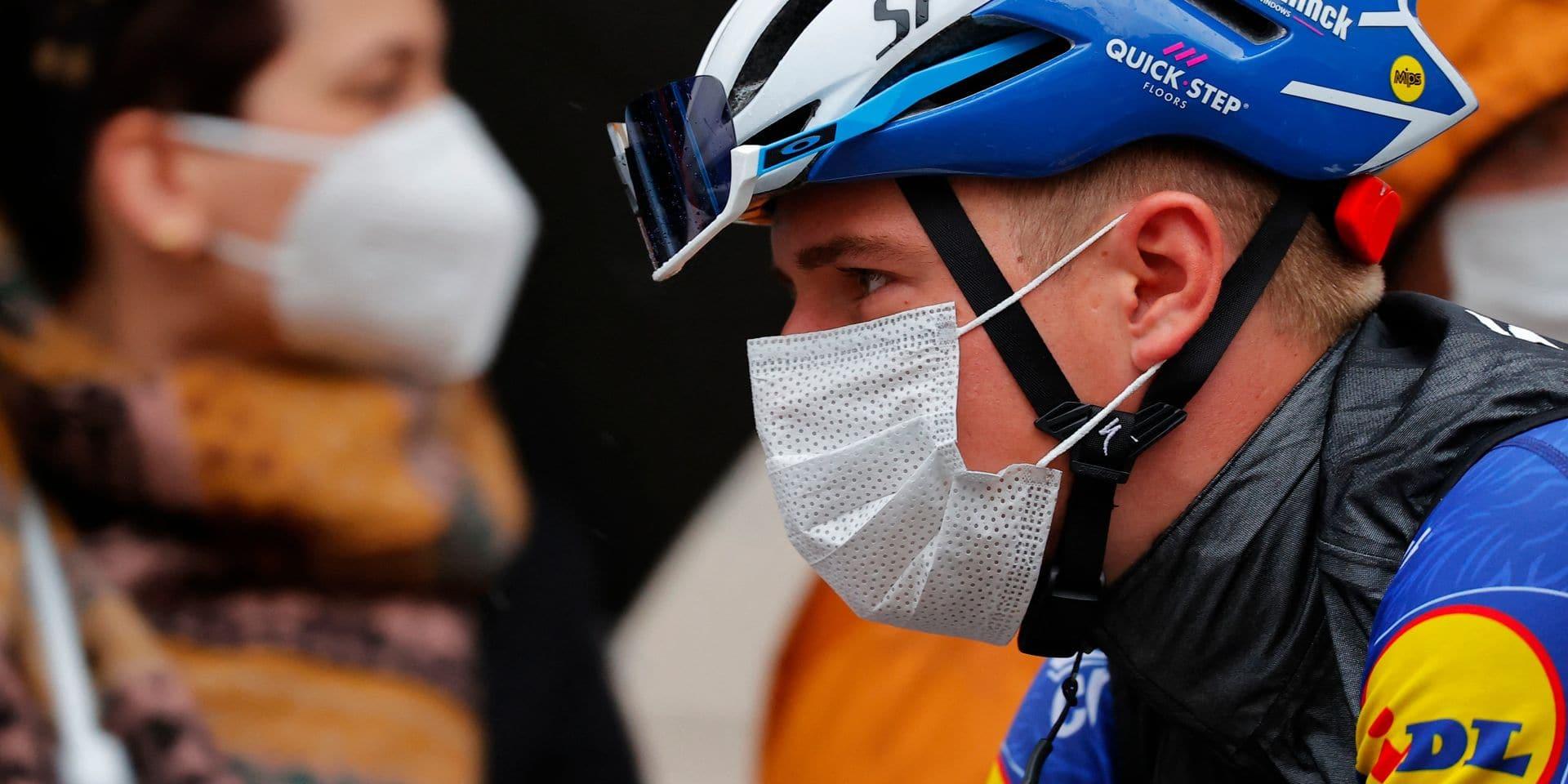 Tour d'Italie: Dombrowski remporte la 4e étape, Bernal et Landa grappillent sur Evenepoel